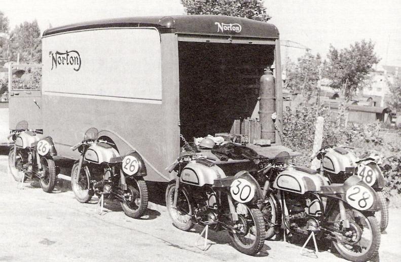 Swiss GP 1950 Team bikes